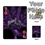 Panic At The Disco Playing Cards 54 Designs  Front - Diamond7