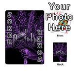 Panic At The Disco Playing Cards 54 Designs  Front - Joker1