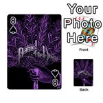 Panic At The Disco Playing Cards 54 Designs  Front - Spade8