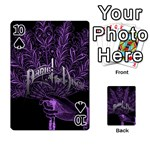 Panic At The Disco Playing Cards 54 Designs  Front - Spade10