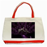 Panic At The Disco Classic Tote Bag (Red) Front