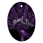 Panic At The Disco Oval Ornament (Two Sides) Back