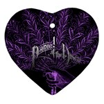 Panic At The Disco Heart Ornament (2 Sides) Back