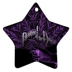 Panic At The Disco Star Ornament (Two Sides)  Back
