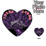 Panic At The Disco Playing Cards 54 (Heart)  Front - Joker2