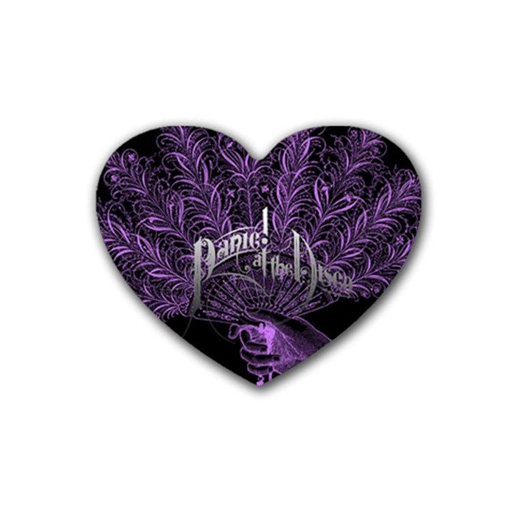Panic At The Disco Heart Coaster (4 pack)