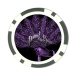 Panic At The Disco Poker Chip Card Guards Back