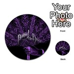 Panic At The Disco Multi-purpose Cards (Round)  Back 25