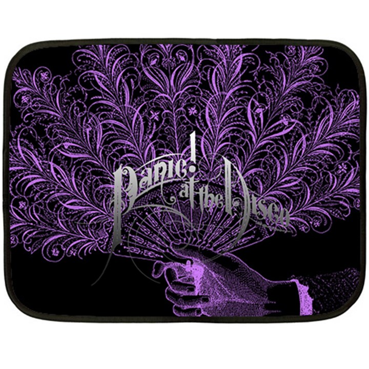 Panic At The Disco Double Sided Fleece Blanket (Mini)