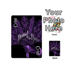 Panic At The Disco Playing Cards 54 (Mini)  Front - Spade3