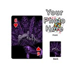 Panic At The Disco Playing Cards 54 (Mini)  Front - Heart6