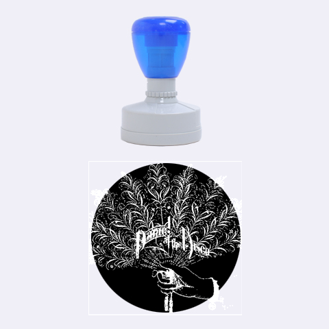 Panic At The Disco Rubber Round Stamps (Medium)