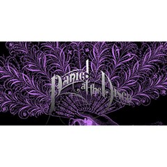 Panic At The Disco YOU ARE INVITED 3D Greeting Card (8x4)