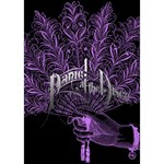 Panic At The Disco Heart Bottom 3D Greeting Card (7x5) Inside