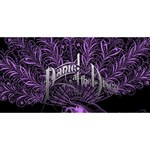 Panic At The Disco Merry Xmas 3D Greeting Card (8x4) Back