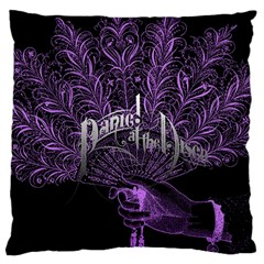 Panic At The Disco Large Cushion Case (Two Sides)