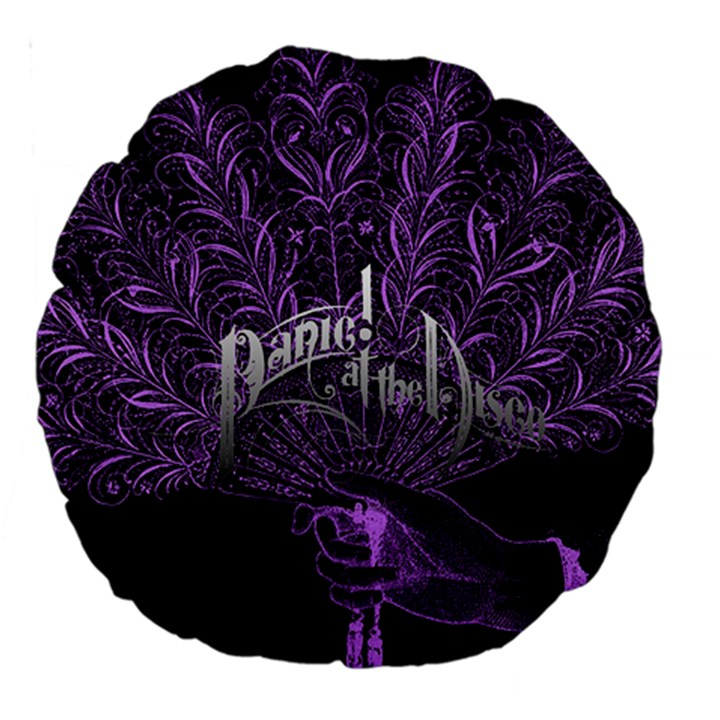 Panic At The Disco Large 18  Premium Round Cushions