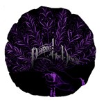 Panic At The Disco Large 18  Premium Round Cushions Back