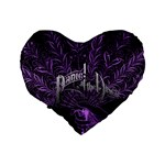 Panic At The Disco Standard 16  Premium Heart Shape Cushions Back