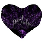 Panic At The Disco Large 19  Premium Heart Shape Cushions Front