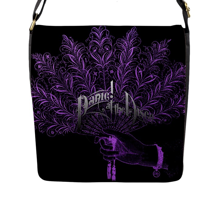 Panic At The Disco Flap Messenger Bag (L)