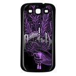 Panic At The Disco Samsung Galaxy S3 Back Case (Black) Front