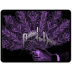 Panic At The Disco Double Sided Fleece Blanket (Large)