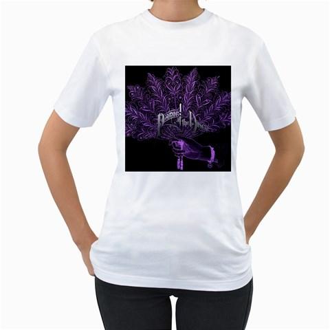 Panic At The Disco Women s T-Shirt (White)