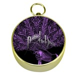 Panic At The Disco Gold Compasses Front