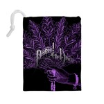 Panic At The Disco Drawstring Pouches (Large)  Back