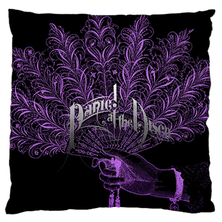 Panic At The Disco Standard Flano Cushion Case (One Side)