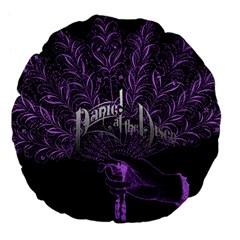 Panic At The Disco Large 18  Premium Flano Round Cushions