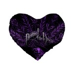 Panic At The Disco Standard 16  Premium Flano Heart Shape Cushions Front
