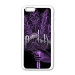 Panic At The Disco Apple iPhone 6/6S White Enamel Case Front