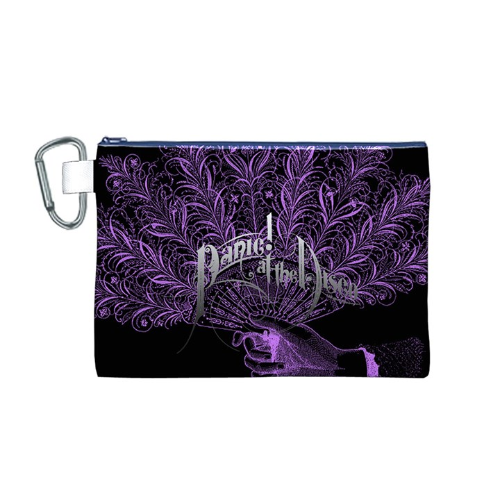 Panic At The Disco Canvas Cosmetic Bag (M)