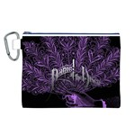 Panic At The Disco Canvas Cosmetic Bag (L) Front