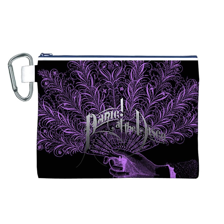 Panic At The Disco Canvas Cosmetic Bag (L)