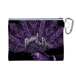 Panic At The Disco Canvas Cosmetic Bag (L) Back
