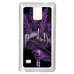Panic At The Disco Samsung Galaxy Note 4 Case (White) Front