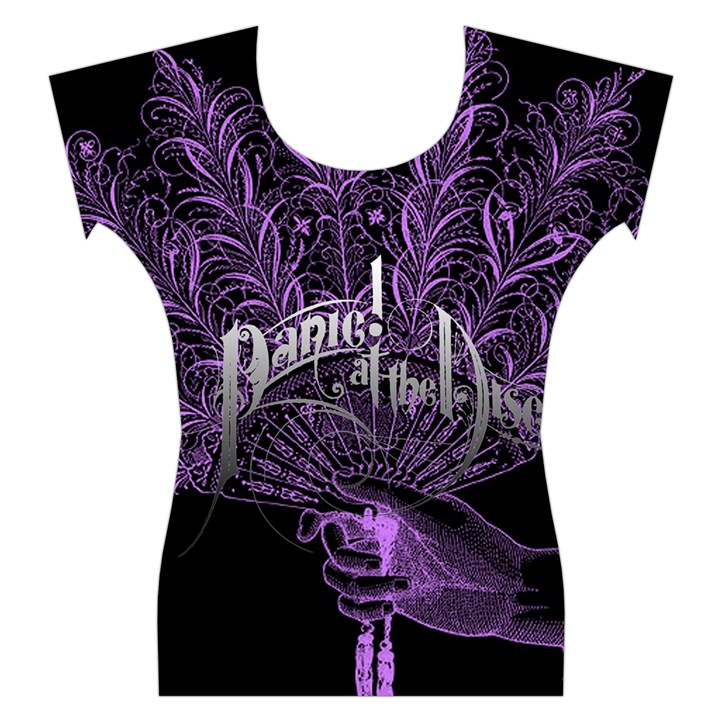 Panic At The Disco Women s Cap Sleeve Top