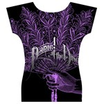 Panic At The Disco Women s V-Neck Cap Sleeve Top Back
