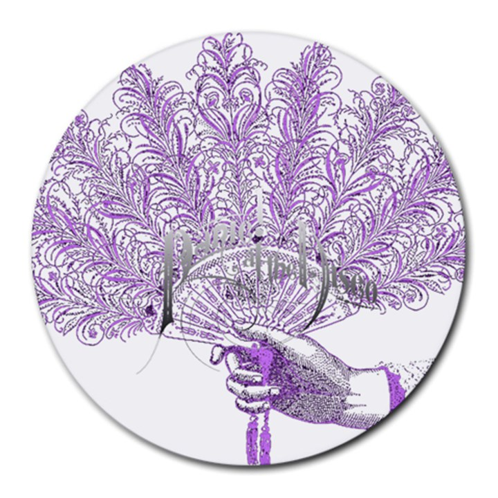 Panic At The Disco Round Mousepads