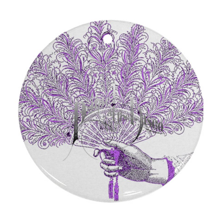 Panic At The Disco Ornament (Round)