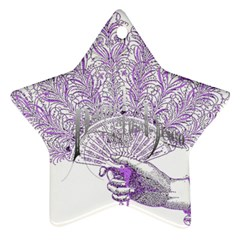 Panic At The Disco Ornament (star)