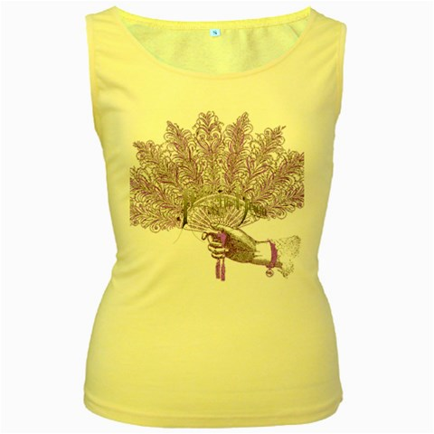 Panic At The Disco Women s Yellow Tank Top