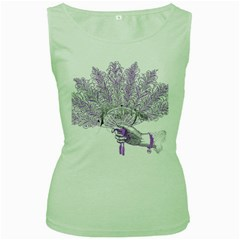 Panic At The Disco Women s Green Tank Top