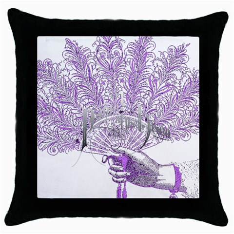 Panic At The Disco Throw Pillow Case (Black)