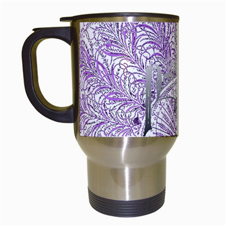 Panic At The Disco Travel Mugs (White)