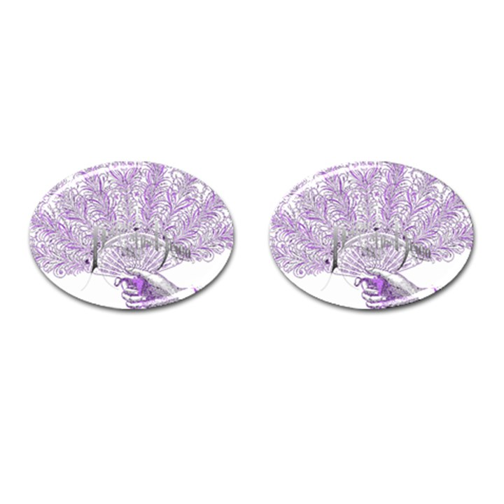 Panic At The Disco Cufflinks (Oval)