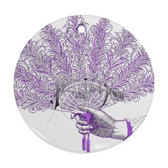 Panic At The Disco Round Ornament (two Sides)